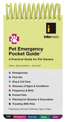 Pet Emergency Pocket Guide Cover Image