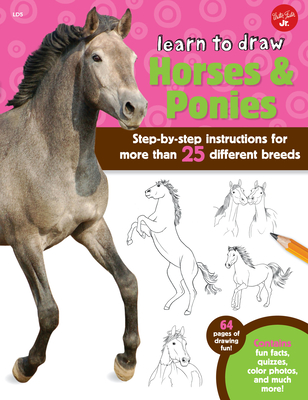 Learn to Draw Horses & Ponies Cover