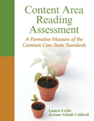 Content Area Reading Assessment: A Formative Measure of the Common Core State Standards Cover Image