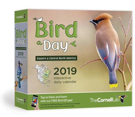 Bird-A-Day 2019 Daily Calendar: Eastern & Central North America Cover Image