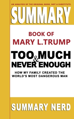 Summary Book of Mary L. Trump Too Much and Never Enough: How My Family Created the World's Most Dangerous Man Cover Image