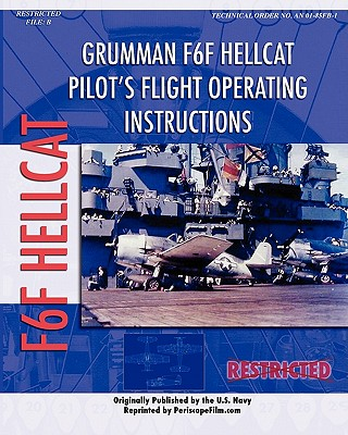 Grumman F6F Hellcat Pilot's Flight Operating Instructions Cover Image