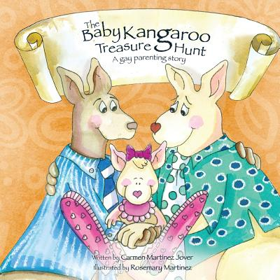 The Baby Kangaroo Treasure Hunt, a Gay Parenting Story Cover