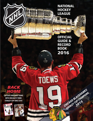 National Hockey League Official Guide & Record Book 2016 (National Hockey League Official Guide an) Cover Image