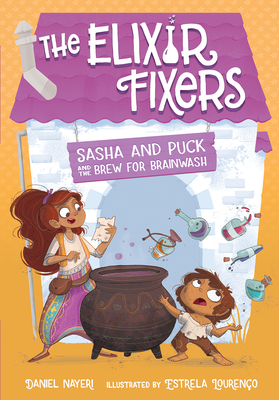 Sasha and Puck and the Brew for Brainwash, 4 Cover Image