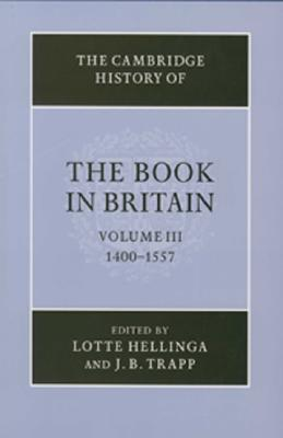 The Cambridge History of the Book in Britain Cover Image