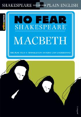 Macbeth (No Fear Shakespeare) (Sparknotes No Fear Shakespeare) Cover Image