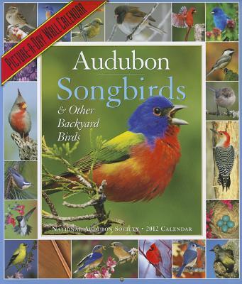 Audubon 365 Songbirds Calendar 2012 Cover Image