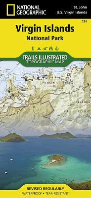 Virgin Islands National Park (National Geographic Trails Illustrated Map #236) Cover Image