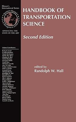 Handbook of Transportation Science Cover Image