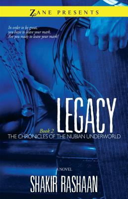 Legacy (Chronicles of the Nubian Underworld #2) Cover Image