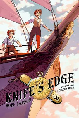 Knife's Edge: A Graphic Novel (Four Points, Book 2) Cover Image