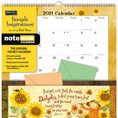 Simple Inspirations(tm) 2021 Note Nook(tm) Cover Image