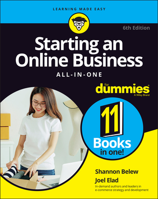 Starting an Online Business All-In-One for Dummies Cover Image