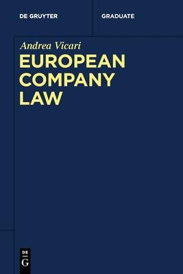 European Company Law (de Gruyter Studium) Cover Image