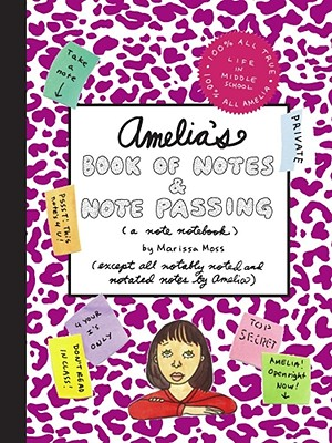 Amelia's Book of Notes & Note Passing Cover