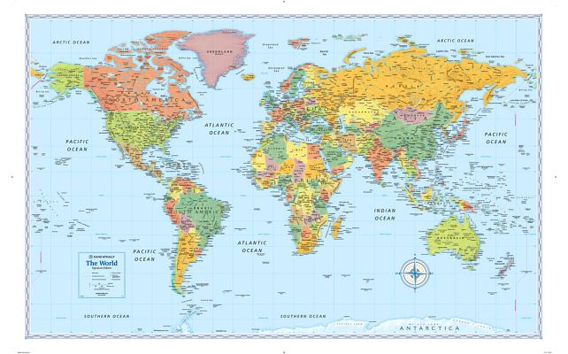 Signature Edition World Wall Map (Folded) Cover Image