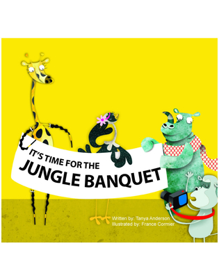 Cover for It's Time for The Jungle Banquet