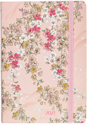2021 Cherry Blossoms Weekly Planner Cover Image