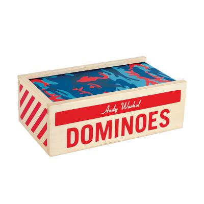 Andy Warhol Wooden Dominoes Cover Image