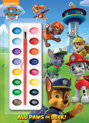 All Paws on Deck! (Paw Patrol) Cover Image