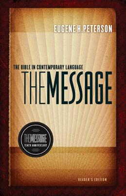 Message 10th Anniversary Reader's Bible-MS (First Book Challenge) Cover Image