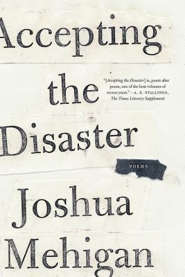 Accepting the Disaster: Poems Cover Image