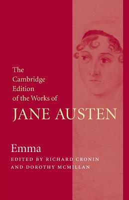 Emma (Cambridge Edition of the Works of Jane Austen) Cover Image