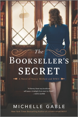 The Bookseller's Secret: A Novel of Nancy Mitford and WWII Cover Image