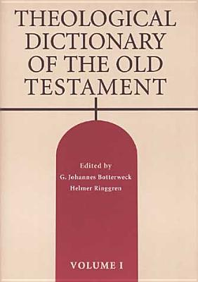 Theological Dictionary of the Old Testament, Volume I Cover Image