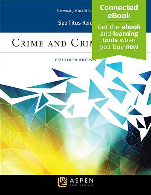 Crime and Criminology (Aspen Criminal Justice) Cover Image