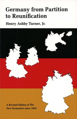 Cover for Germany from Partition to Reunification