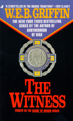 The Witness (Badge Of Honor #4) Cover Image