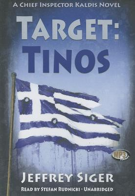 Target: Tinos: An Inspector Kaldis Mystery (Chief Inspector Kaldis Mysteries) Cover Image