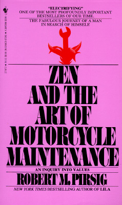 The Zen and Art of Motorcycle Maintenance Cover