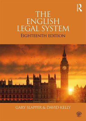 The English Legal System: 2015-2016 Cover Image