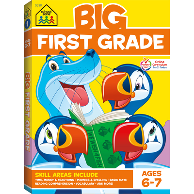 Big First Grade Cover Image