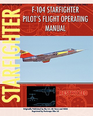 F-104 Starfighter Pilot's Flight Operating Instructions Cover Image