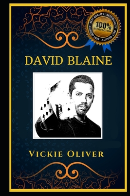 David Blaine: An American illusionist and Endurance Artist, the Original Anti-Anxiety Adult Coloring Book Cover Image