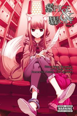 Spice and Wolf, Volume 5 Cover