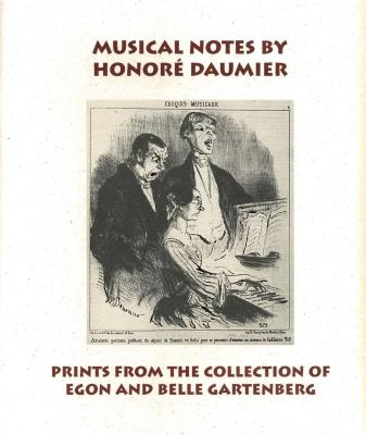 Musical Notes by Honore Daumier Cover