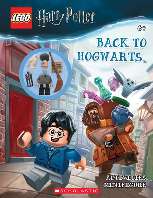 Back to Hogwarts (LEGO Harry Potter: Activity Book with Minifigure) Cover Image