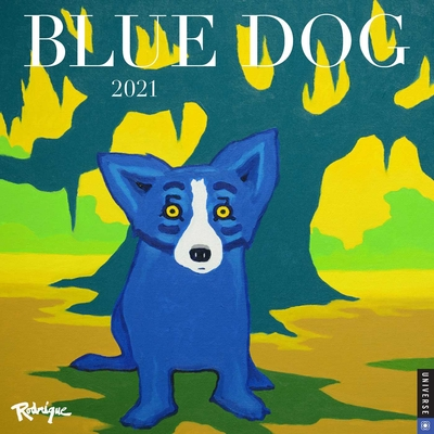 Blue Dog 2021 Wall Calendar Cover Image