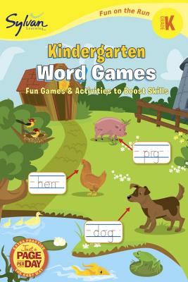 Kindergarten Word Games Cover