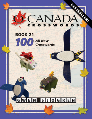 O Canada Crosswords Book 21 Cover Image
