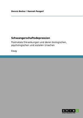 Schwangerschaftsdepression: Postnatale Erkrankungen und deren biologischen, psychologischen und sozialen Ursachen Cover Image