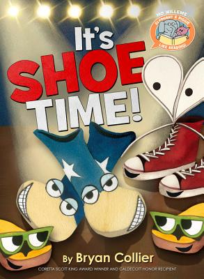 Elephant & Piggie Like Reading! It's Shoe Time! Cover Image