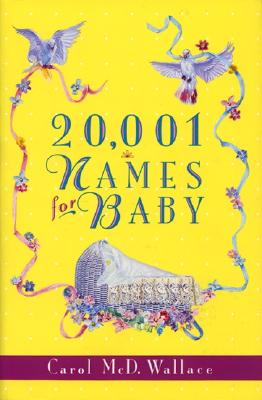 20,001 Names for Baby Cover Image