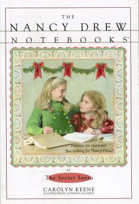 Cover for The Secret Santa (Nancy Drew Notebooks #3)