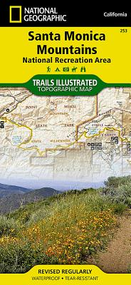 Santa Monica Mountains National Recreation Area (National Geographic Maps: Trails Illustrated #253) Cover Image